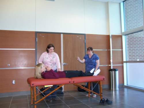 Teaching Reiki Level 1 at San Antonio College